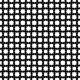 Black and white seamless curved pattern stock image