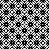 Black and white seamless decorative element stock images
