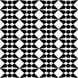 Black and white seamless decorative element stock illustration