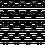 Black and White Seamless Ethnic Pattern Stock Photo