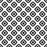 Black and White Seamless Ethnic Pattern. Tribal. Vintage, Grunge, Abstract Tribal Background for Surface Design, Textile, Wallpaper, Surface Textures, Wrapping Royalty Free Stock Images