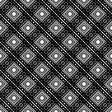 Black and White Seamless Ethnic Pattern. Vintage, Grunge, Abstract Tribal Background. For Textile Design, Wallpaper, Surface Textures, Wrapping Paper Royalty Free Illustration