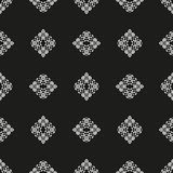 Black and White Seamless Ethnic Pattern. Vintage, Grunge, Abstract Tribal Background for Textile Design, Wallpaper, Surface Textures, Wrapping Paper Stock Image
