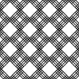 Black and White Seamless Ethnic Pattern. Vintage, Grunge, Abstract Tribal Background for Textile Design, Wallpaper, Surface Textures, Wrapping Paper Stock Photography