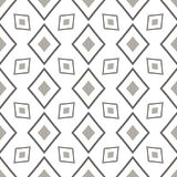 Black and White Seamless Ethnic Pattern Stock Photos