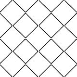 Black and White Seamless Ethnic Pattern. Royalty Free Stock Photo