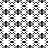 Black and white SEAMLESS GEOMETRIC PATTER, BACKGROUND DESIGN. Modern stylish texture. Repeating and editable.Can be used for print Royalty Free Stock Photos