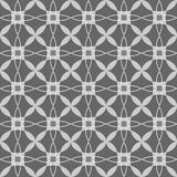 Black and white seamless geometric pattern Royalty Free Stock Photos