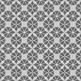 Black and white seamless geometric pattern Royalty Free Stock Image