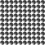 Black and white seamless geometric pattern. Vector Royalty Free Stock Image