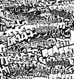 Black White Seamless Graffiti