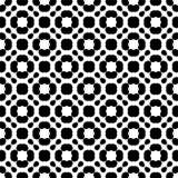 Black and white seamless pattern royalty free stock photos