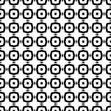 Black and white seamless pattern stock image