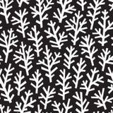 Black and white seamless pattern Stock Photos