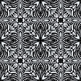 Black and white seamless pattern. Royalty Free Stock Photography
