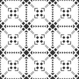 Black and white seamless pattern. Aztec abstract geometric background. Ethnic hipster style. stock photos