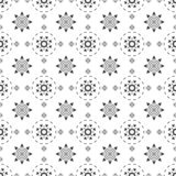 Black and white seamless pattern. Aztec abstract geometric background. Ethnic hipster style. royalty free stock photo