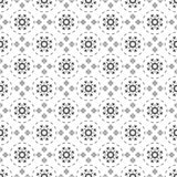 Black and white seamless pattern. Aztec abstract geometric background. Ethnic hipster style. royalty free stock photos