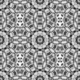 Black and white seamless pattern. Royalty Free Stock Images