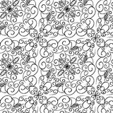 Black and white seamless pattern Royalty Free Stock Photography