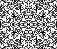 Black and white seamless pattern Royalty Free Stock Images
