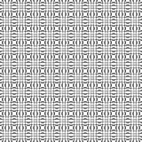 Black and white seamless pattern. Geometric  wallpaper or website background. Vector illustration Royalty Free Stock Photo