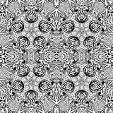 Black and white seamless pattern. Stock Photography
