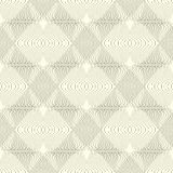 Black and white seamless pattern made of lines. Royalty Free Stock Image