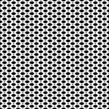 Black & white seamless pattern, mesh, lattice. Vector seamless pattern, simple black & white geometric texture, monochrome illustration on mesh, lattice, tissue Royalty Free Stock Photography