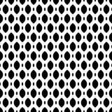 Black & white seamless pattern, mesh, lattice. Vector seamless pattern, simple monochrome black & white geometric texture, illustration on mesh, lattice, tissue Royalty Free Stock Photo