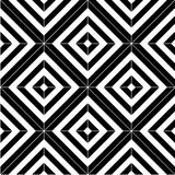 Black and white seamless pattern tiles Royalty Free Stock Image