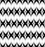 Black and white seamless pattern twist line style, abstract background Royalty Free Stock Photography