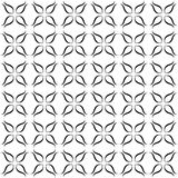 Black and white seamless pattern Royalty Free Stock Photo