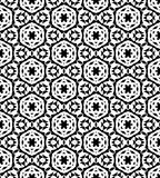 Black and white  seamless repeat pattern and background vector image. Black and white  repeat pattern and background image seamless vector image useful for Stock Image