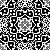 Black and white Seamless Repeating Vector Pattern. Vector illustration, multi uses for background, wallpapers, printing etc stock illustration