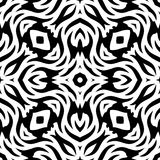 Black and white Seamless Repeating Vector Pattern. Vector illustration, multi uses for background, wallpapers, printing etc Royalty Free Stock Image