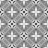 Black and white Seamless Repeating Vector Pattern. Vector illustration, multi uses for background, wallpapers, printing etc Stock Photo