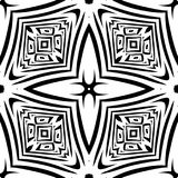 Black and white Seamless Repeating Vector Pattern. Vector illustration, multi uses for background, wallpapers, printing etc Royalty Free Stock Photography