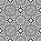 Black and white Seamless Repeating Vector Pattern. Vector illustration, multi uses for background, wallpapers, printing etc Stock Photos