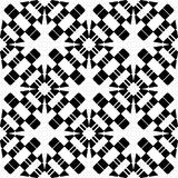 Vector BLACK WHITE SEAMLESS PATTERN DESIGN. Black and white Seamless Repeating Vector Pattern. Elegant Design in Baroque Style Background Texture. Black and Vector Illustration