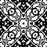 Black and white Seamless Repeating Vector Pattern. Vector illustration, multi uses for background, wallpapers, printing etc vector illustration