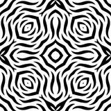 Black and white Seamless Repeating Vector Pattern. Vector illustration, multi uses for background, wallpapers, printing etc Stock Photography
