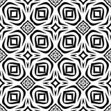 Black and white Seamless Repeating Vector Pattern. Vector illustration, multi uses for background, wallpapers, printing etc Royalty Free Stock Photos