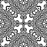 Black and white Seamless Repeating Vector Pattern. Vector illustration, multi uses for background, wallpapers, printing etc royalty free illustration