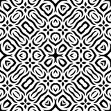 Black and white Seamless Repeating Vector Pattern. Vector illustration, multi uses for background, wallpapers, printing etc Stock Images