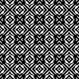 Vector seamless abstract pattern black and white. abstract background wallpaper. vector illustration. Heart, backdrop. Black and white Seamless Repeating Vector royalty free illustration