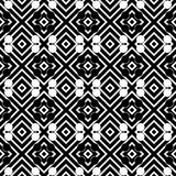 Vector seamless abstract pattern black and white. abstract background wallpaper. vector illustration. Heart, backdrop. Black and white Seamless Repeating Vector stock illustration