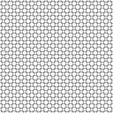Black and white seamless wire checks geometrical pattern Stock Image