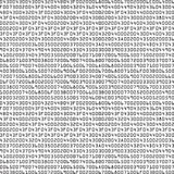 Black and white security background with HEX-code Royalty Free Stock Photos