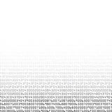 Black and white security background with HEX-code Stock Image